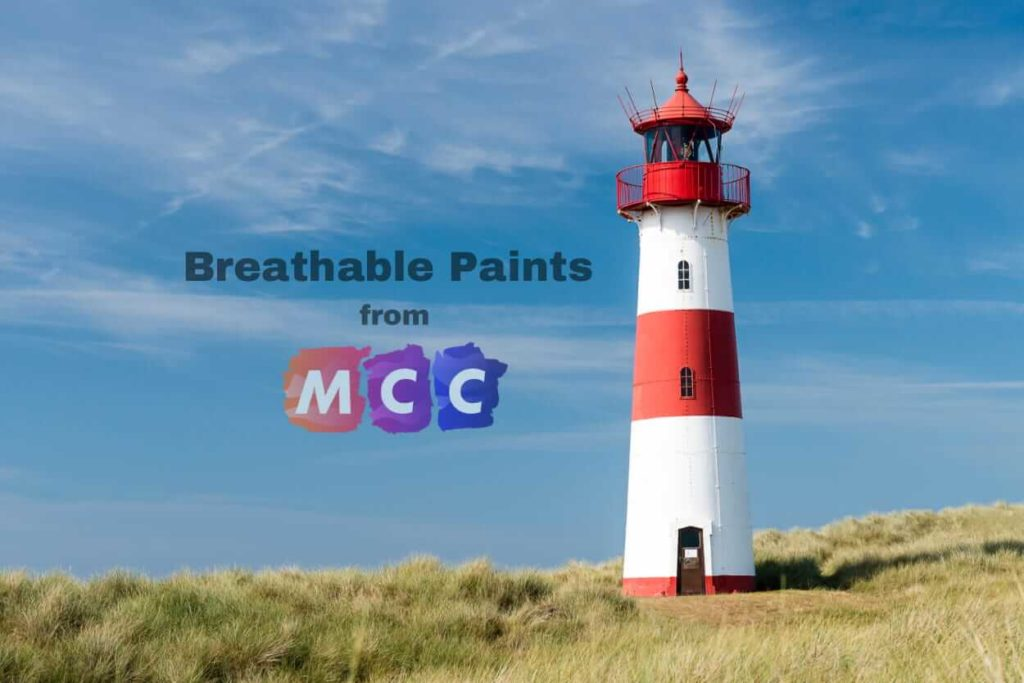 Breathable Paint for Light Houses